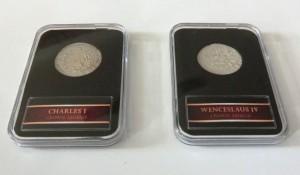 Stříbrná mince Charles I, Wenceslav IV