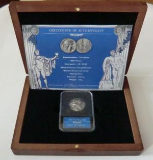 Stříbrná mince 1 tetradrachm Dionysus