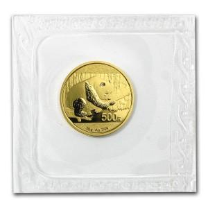 Zlatá mince Panda 30 g