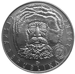 Stříbrná mince Dosažení severního pólu b.k.