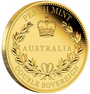 Zlatá mince Australský Double Sovereign 1/2 oz 2018