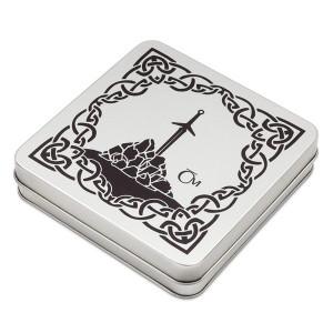 Sběratelská etue na 4 mince Legenda o králi Artušovi