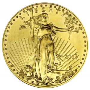 Zlatá mince American Eagle 1 oz