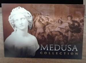 Stříbrná mince 1 Drachm Medusa
