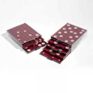 Box k uložení 30 mincí s průměrem 37 mm