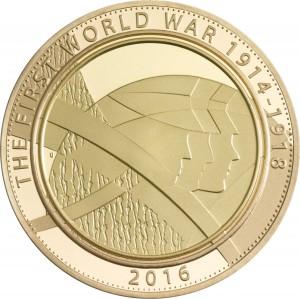 Zlatá mince Armáda 1/2 oz
