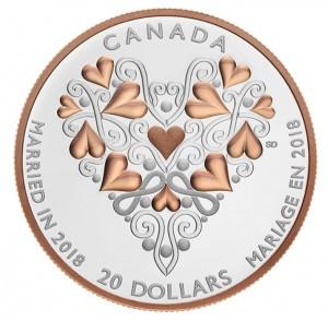 Stříbrná mince Gratulace ke svatbě! 1 oz