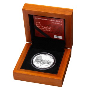 Stříbrná mince Il Colosseo 1oz proof 2015