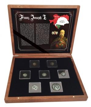 Sada stříbrných mincí František Josef I. 1892 - 1916