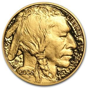 Zlatá mince American Buffalo 1 oz proof 2006