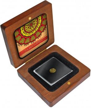Zlatá mince indický Fanam 1650-1835