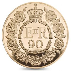 Zlatá mince Královna Alžběta II. 90. výročí narození 1 oz proof 2016