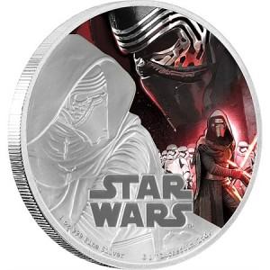 Stříbrná mince Star Wars - Kylo Ren 1 oz