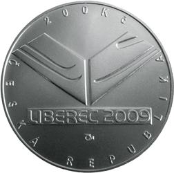 Stříbrná mince FIS mistrovství světa v klasickém lyžování proof