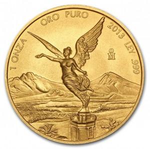 Zlatá mince Mexický Libertad 1 oz