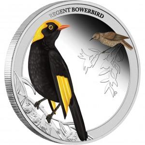 Stříbrná mince Lemčík královský 1/2 oz proof kolor 2013