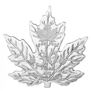 Stříbrná mince Maple Leaf 30. výročí 1 oz 2018