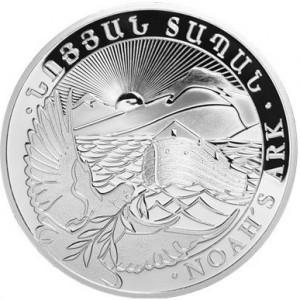 Stříbrná mince Noemova archa 10 oz