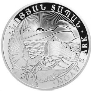 Stříbrná mince Noemova archa 5 oz