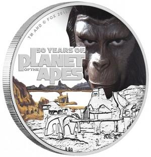 Stříbrná mince Planeta Opic 1 oz proof 2018