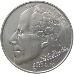 Stříbrná mince Gustav Mahler b.k.