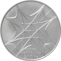 Stříbrná mince Vysvěcení kaple sv. Václava v katedrále sv. Víta b.k.