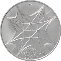 Stříbrná mince Vysvěcení kaple sv. Václava v katedrále sv. Víta proof