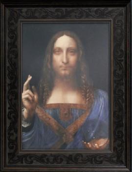 Stříbrná mince Da Vinciho Salvator Mundi 1.5 kg proof like 2019