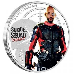 Stříbrná mince Sebevražedný oddíl Deadshot 1 oz proof 2019