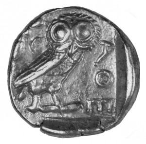 Aténska sova - tetradrachma, , XF