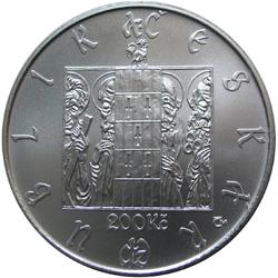 Stříbrná mince Staroměstský orloj proof