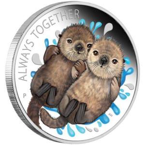 Stříbrná mince Navždy spolu 1/2 oz proof 2020