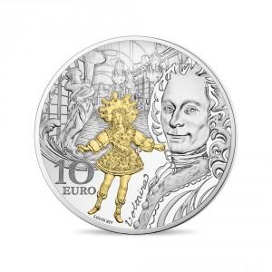Stříbrná mince Období baroka a rokoka proof 2018