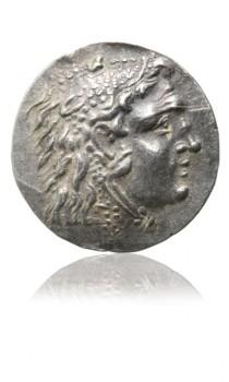 Tetradrachma Alexandra Velikého