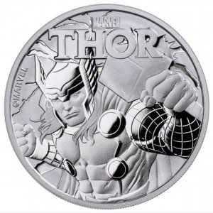 Stříbrná mince Marvel - Thor 1 oz