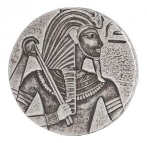 Stříbrná mince Tchad King Tut 5 oz