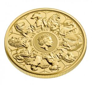 Zlatá mince The Queen's Beasts 1 oz 2021