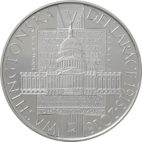 Stříbrná mince Washingtonská deklarace b.k. 2018