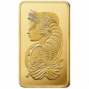 Zlatý investiční slitek 250 g PAMP