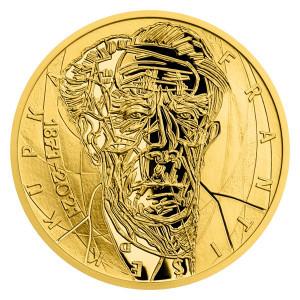 Zlatá medaile - František Kupka 1/2 oz proof 2021
