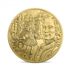Zlatá mince Období baroka a rokoka 1/4 oz proof 2018